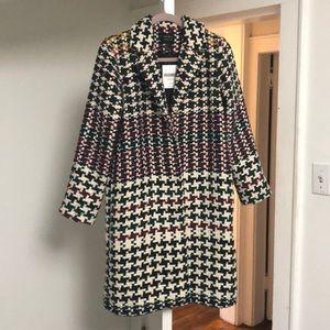 Tweed multicolor Forever 21 coat